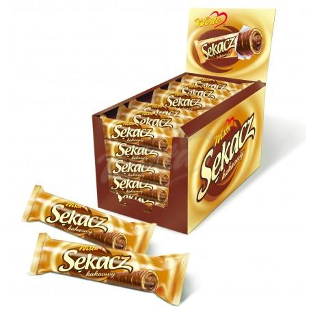 Sękacz kakaowy w czekoladzie 38 szt.