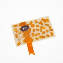 Czekolada biała ze skórką pomarańczową 100g